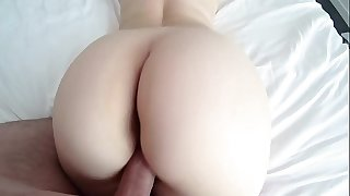 White woman with big ass in crimson subjugation and pantyhose gets bitchy