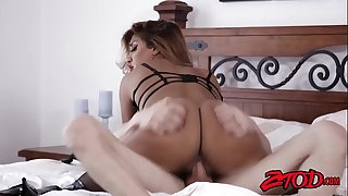 Sub Mummy Mercedes Carrera stuffed with big dick