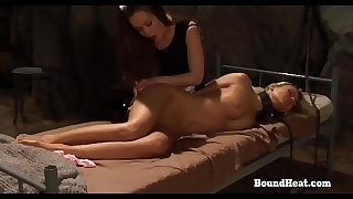 On Consignment 3: Handcuffed Lesbian Slave And Lustful Maid