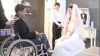Japanese bride gets fucked by husband buddy (Full: bit.ly/2Odtl7r)