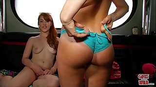 Women GONE WILD - Beautiful Young Lesbians Getting Crazy In Front Of Our Camera