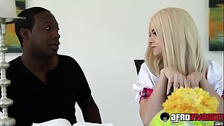 Petie schoolgirl Elsa jean loves getting fucked by bbc